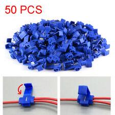 Blue Quick Splice Terminals Electrical Lock Wire Connectors Crimp Cords Cables