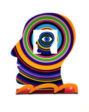 David Gerstein Sculpture HEAD WITHIN HEAD David Gerstein modern Contemporary Art