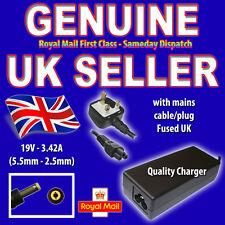 3.42 a Para Asus x58l x80le z35h Portátil Batería cargador Cable de alimentación K050