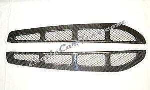 Carbon Fiber Rear Window louvers Ferrari 360 spider Challenge/Stradale F1