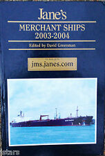 2003 - 2004 JANE'S MERCHANT SHIPS REFERENCE BOOK, 18th EDITION