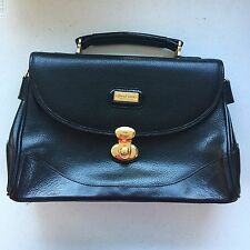 Women Handbag Black Grand Lion Pelletteria Alta Classe Shoulder Carry Sling Bag