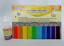 pH Test Kit Drops-Alkaline level testing! Testing of Hydroponics & liquids 10ml