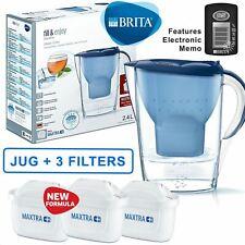 Brita Marella Maxtra + plus 2.4 L Carafe Filtrante + 3 mois cartouches pack, ble...