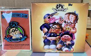 2021 Topps Garbage Pail Kids GPK Collectors Club Set #1 Trash Can-Didates + Pin