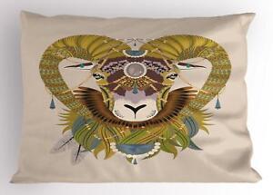Goat Pillow Sham Decorative Pillowcase 3 Sizes Bedroom Decoration