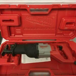 Milwaukee 6519-31 Reciprocating Saw Sawzall Heavy Duty Case, VG