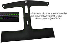 GREEN STITCH T BAR TARGA TOP LEATHER SKIN COVER FITS NISSAN 300ZX Z32 90-96