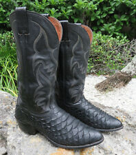 RARE Exotic Nocona GIANT ANACONDA Cowboy Western Boots 11E