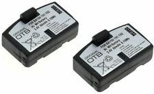 2x Power Battery for Sennheiser Headphones Headset Ba 150 151 152 Set 820 2500