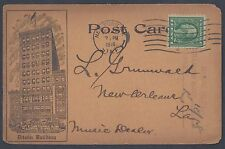 US 1916 NY DITSON BLOG ADVERTISING MUSIC DEALER CARD