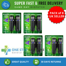 4x duo Nicorette Quickmist Duo Mouth Spray Fresh Mint and cool berry