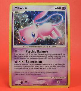 Pokemon TCG English Card Secret Wonders Mew 15/132 Holo Rare