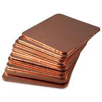 Kupferplättchen Kupfer Copper Pad Heatsink CPU GPU VRAM (10-Pack) - 20x20x0,5mm