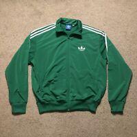 Adidas Originals Track Jacket Celtics Green Men's XL Three Stripes