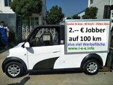 i-e-e Elektroauto Kleintransporter bis 78 Km/h mit EEC/COC Zulassung