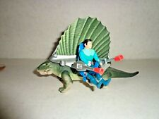 Tyco Dino Riders Dimetrodon 1987 near complete with figure