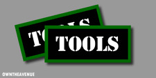 """Tools Ammo Can Labels for Ammunition Case 3.5"""" x1.50"""" stickers decals(2PACK)"""