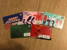 STARBUCKS SET OF 5 GIFT CARD HONG KONG EDITION 2021 MOTHER'S FATHER'S DAY 50 YR