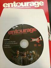 Entourage – Season 4, Disc 1 REPLACEMENT DISC (not full season)