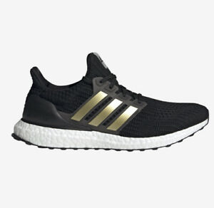 Adidas Ultraboost DNA Black/White/Gold Men's Running Shoes (Sizes 7-13)   FY9316