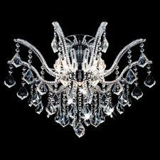 Kristall Kronleuchter Deckenleuchte Lüster Leuchte Ø60cm Wohnzimmer Deckenlampe