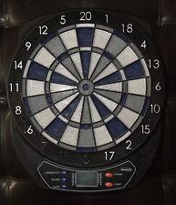 Halex Zeta Electronic Dart Board 64310 Blue Gray Black. (Read Description)