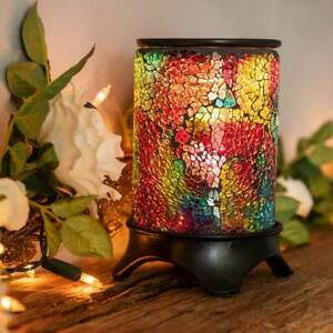 Owlchemy RAINBOW Electric wax burner (warmer) with light & dimmer