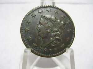 EXTREMELY VERY VERY RARE 1816 LARGE CENT BU/SLIDER BU CONDITION   nfm131