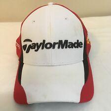TaylorMade R9 Penta TD Golf Hat Cap White Red Free Shipping Adjustable Free Ship