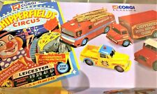 CORGI CLASSICS * CHIPPERFIELDS CIRCUS  SET * 4 MODELS