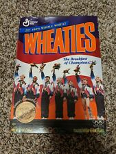 WHEATIES CEREAL BOX 1996 WOMEN'S OLYMPIC GOLD MEDAL GYMNASTICS TEAM UNOPENED