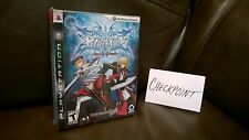 BlazBlue: Calamity Trigger Limited Collector Edition (PS3) NEW SEALED RARE MINT!