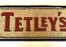 Vintage Beer Pub Bar Towel Tetley's