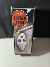 Buxton Shower Radio, sealed, New