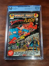 World's Finest Comics #198 5.5 Superman-Flash Race!. CBCS Graded. Classic Cover