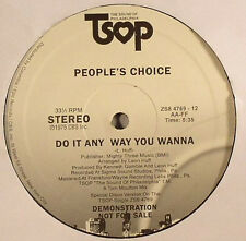 People's Choice ‎– Do It Any Way You Wanna