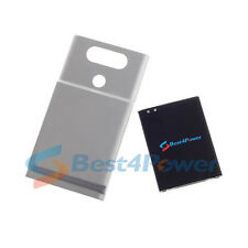 8200mAh High Extended Battery+Silver Cover For T-Mobile LG V20 H918 Phone