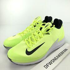 Nike Court Air Zoom Zero HC Premium Men's 8 Tennis Shoes AO5021-700 New
