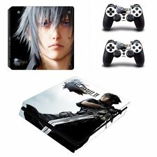 Final Fantasy XV / Ps4 slim Skin Autocollant Console De Jeu + Manettes Ps4 FF 15