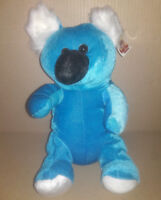 Funny Farm Friends Blue Koala Toy Plush Unusual 14""