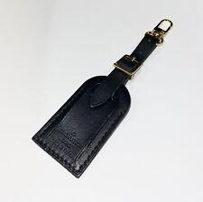 Louis Vuitton Black Name Tag Small - Mini 💯% Authentic