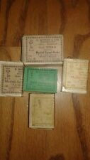 EXTREMELY RARE VINTAGE O.MUSTAD & SONS 5 BOXES OF FISHING HOOKS