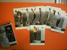2001 UPPER DECK GOLF NATIONAL CONVENTION PROMO PACK SET 10 CARDS ~