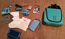 Blue NINTENDO DSi Perfect Condition/Works Perfectly Complete Accessories Bundle!