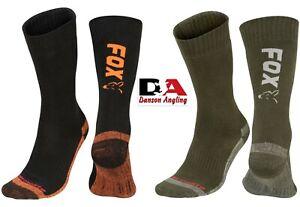 Fox Thermolite Long Socks Fox Thermal Socks NEW Carp Fishing Winter Socks