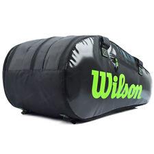 Wilson 2019 Super Tour 3 Comp 15Pk Black Tennis Racquet Backpack Wr8004101001