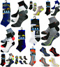 12 Pairs Men's Prohike Trainer Liner Ankle Sports Socks [UK Size 6-11]