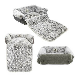 Dog Cat Sofa Bed Fleece Warm Luxury  / Couch / Chair Protector All Pet Solutions