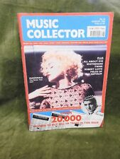 Madonna Music Collector Magazine August 1990 6 page feature